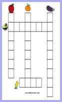 crucigramas gráficos para imprimir - nivel 1