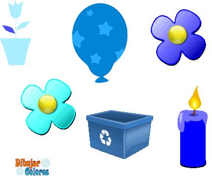 Observacion Seis Objetos Azules Actividades Formativas
