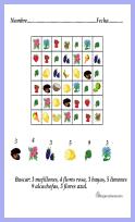 sopa de letras gráficos con imágenes