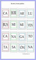 Amenos ejercicios para ampliar vocabulario