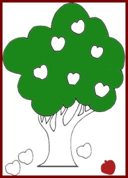 arriba - abajo del árbol
