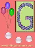 Letras de la E a la H del abecedario