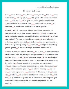 completar texto guiones