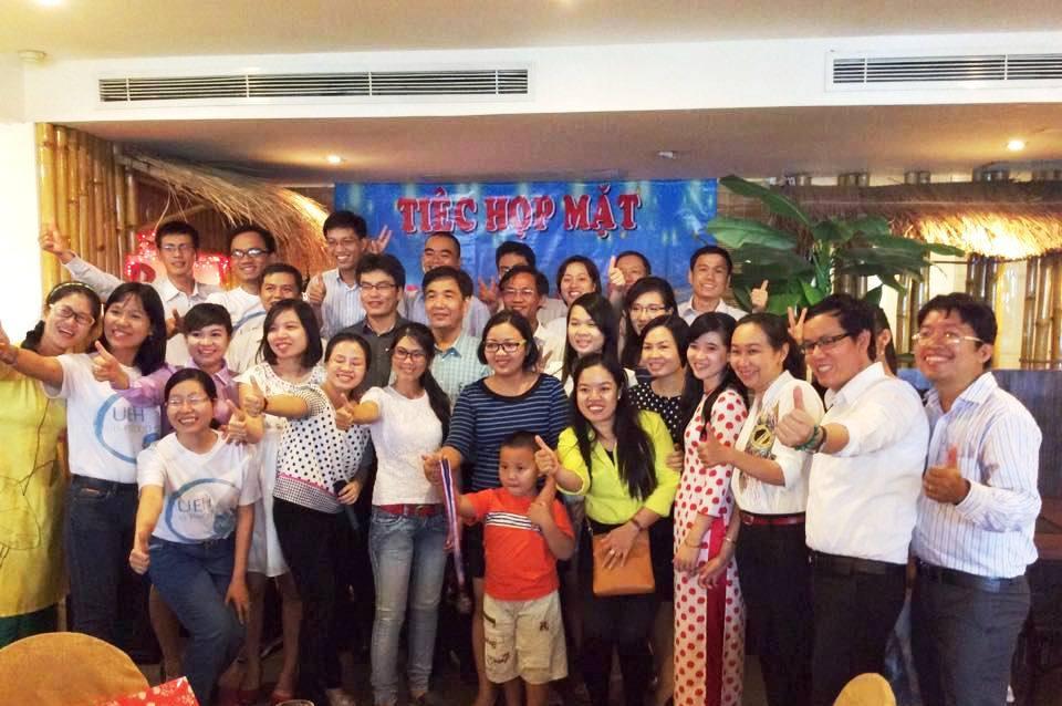 Tiệc họp mặt với khóa 24 - 2014