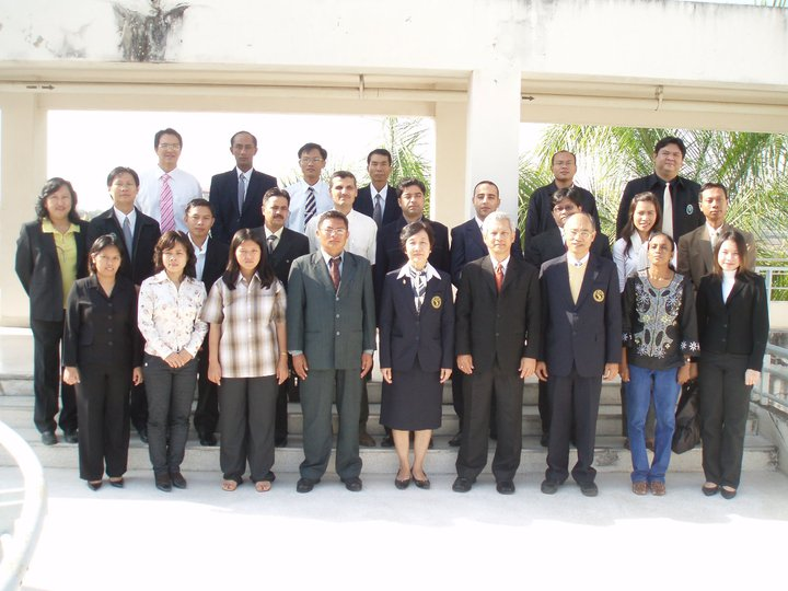 "Training course on ""Epidemiology and surveillance of zoonotic transboundary diseases"" in Chiang Mai University, 26/01 - 05/03/2009"