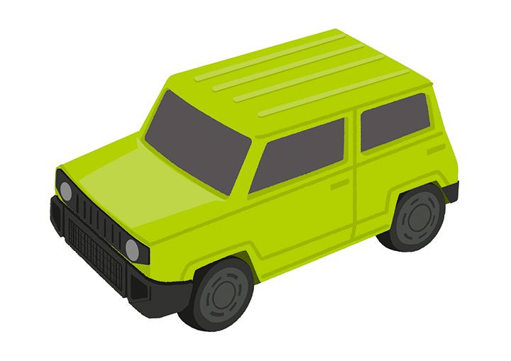 トミカのミニカー