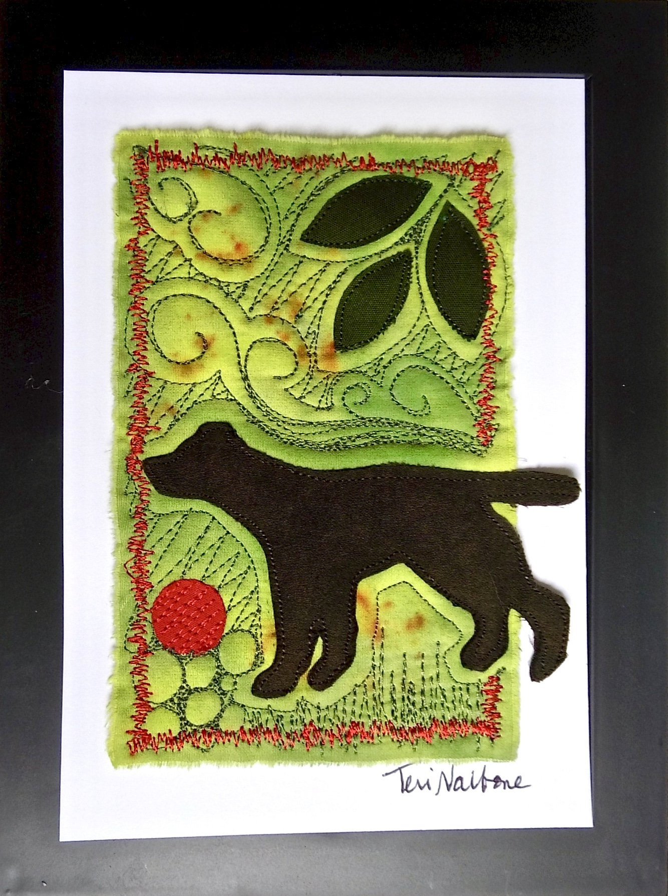 chartreuse dog mini