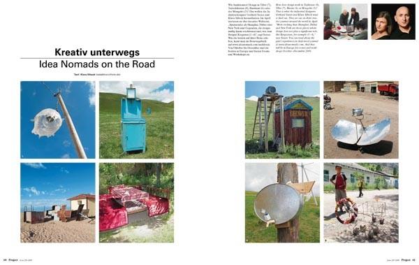 onizou idea nomads - form 229 - gerhard seizer & klara sibeck