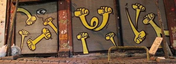 kripoe yellow fist istanbul - onizou idea nomads - gerhard seizer & klara sibeck