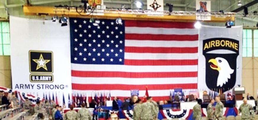 HUGE USA FLAG & BANNERS