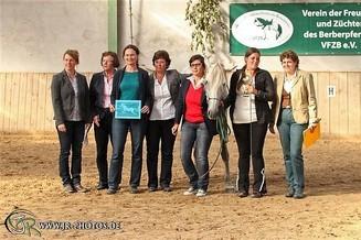 Best of Show 2014 Araber-Berber Stute Vespa au Crins