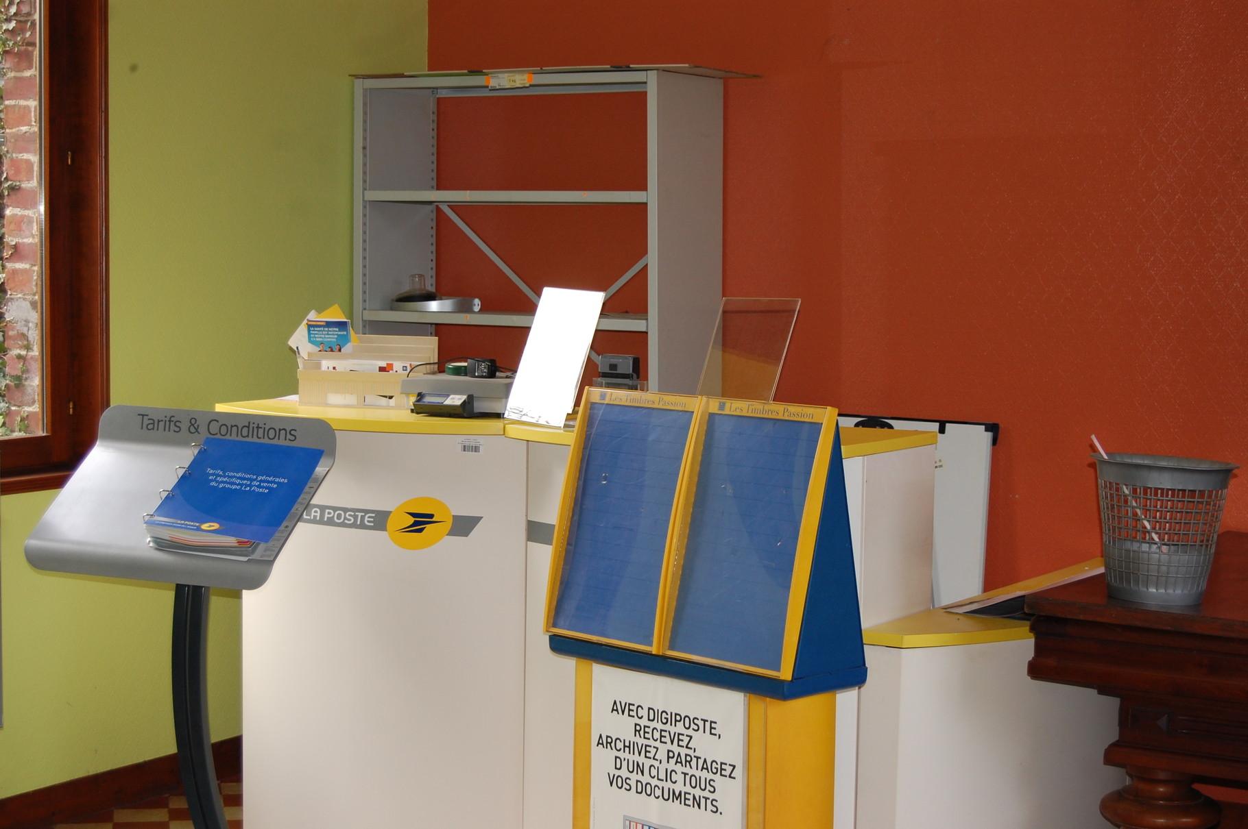 Espace bureau de Poste