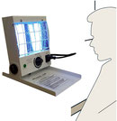 device for localized phototherapy with Philips UVB 311nm lamps