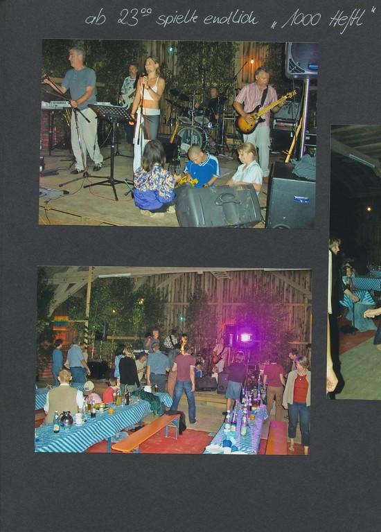 bei Andi Kronseder's Geburtstag 2003