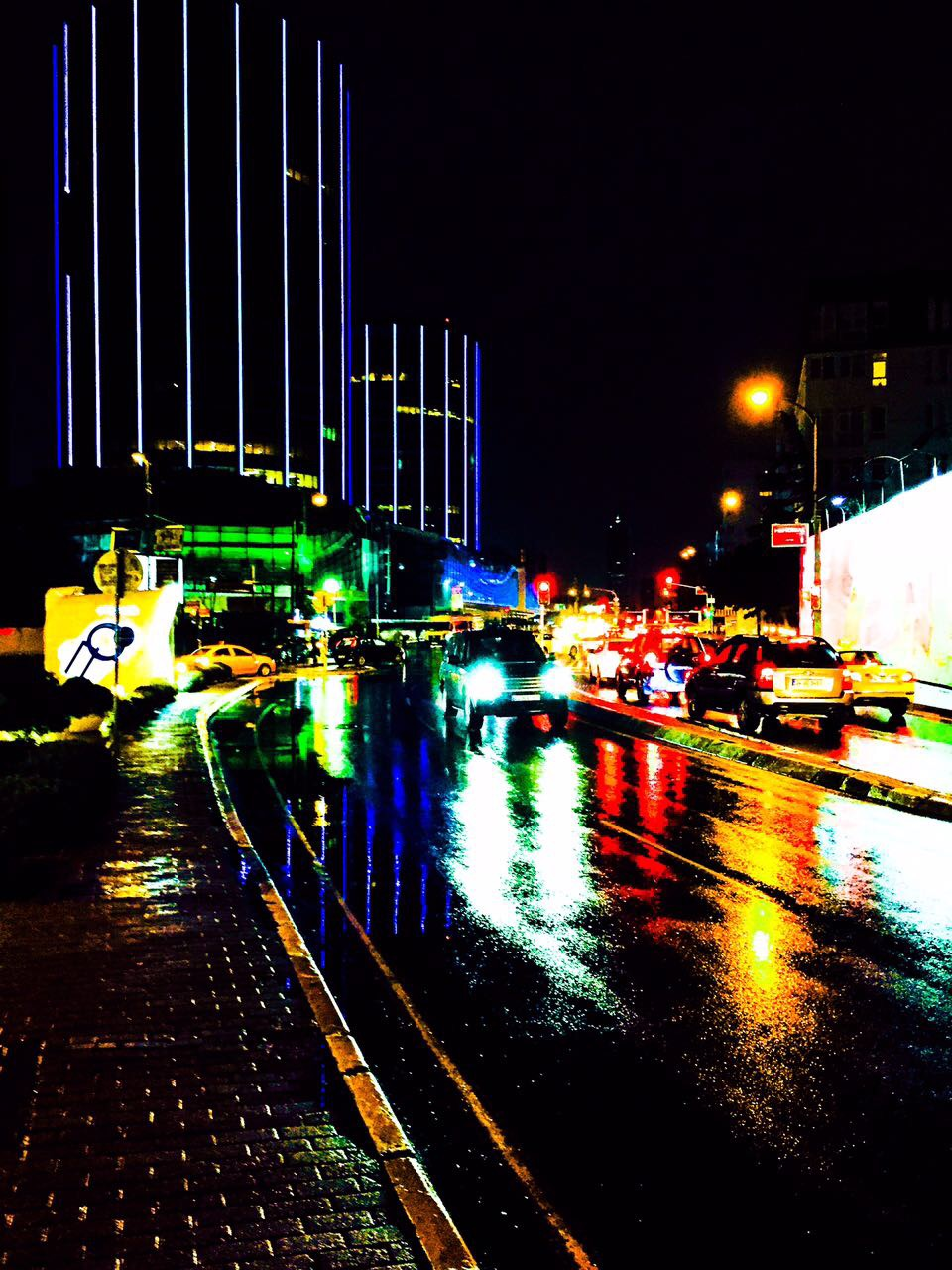 Rainy Day, Istanbul, Alu-Dibond, 2014, 100cm x 75cm