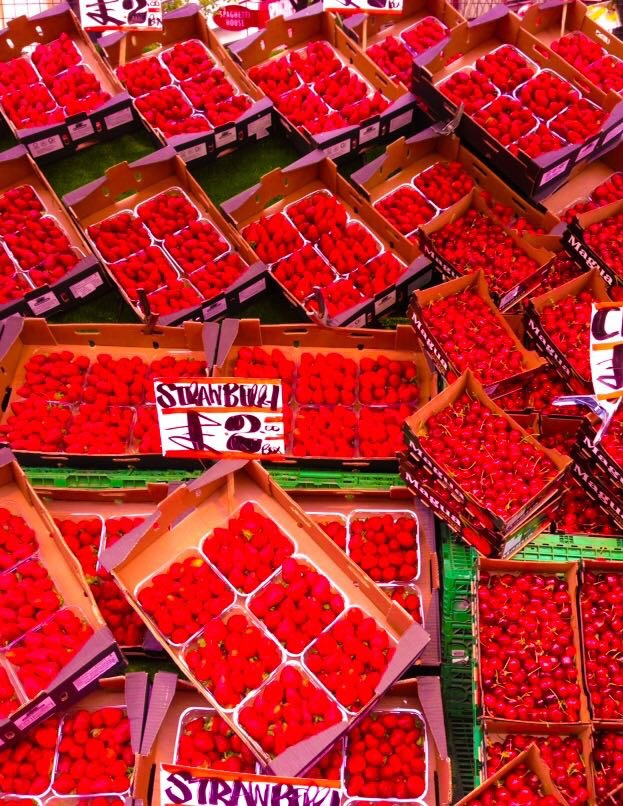 Portobello Markt, London, Alu-Dibond, 2014, 45cm x 34cm