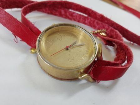吉田さんの作品 腕時計