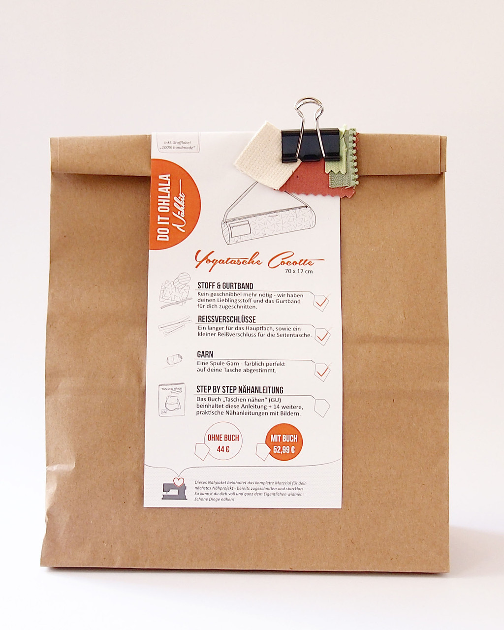 Verpackung Nähkit