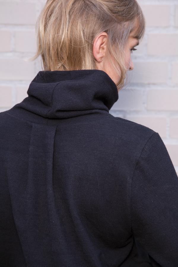 Pulli Matice mit Rollkragen, Rücken