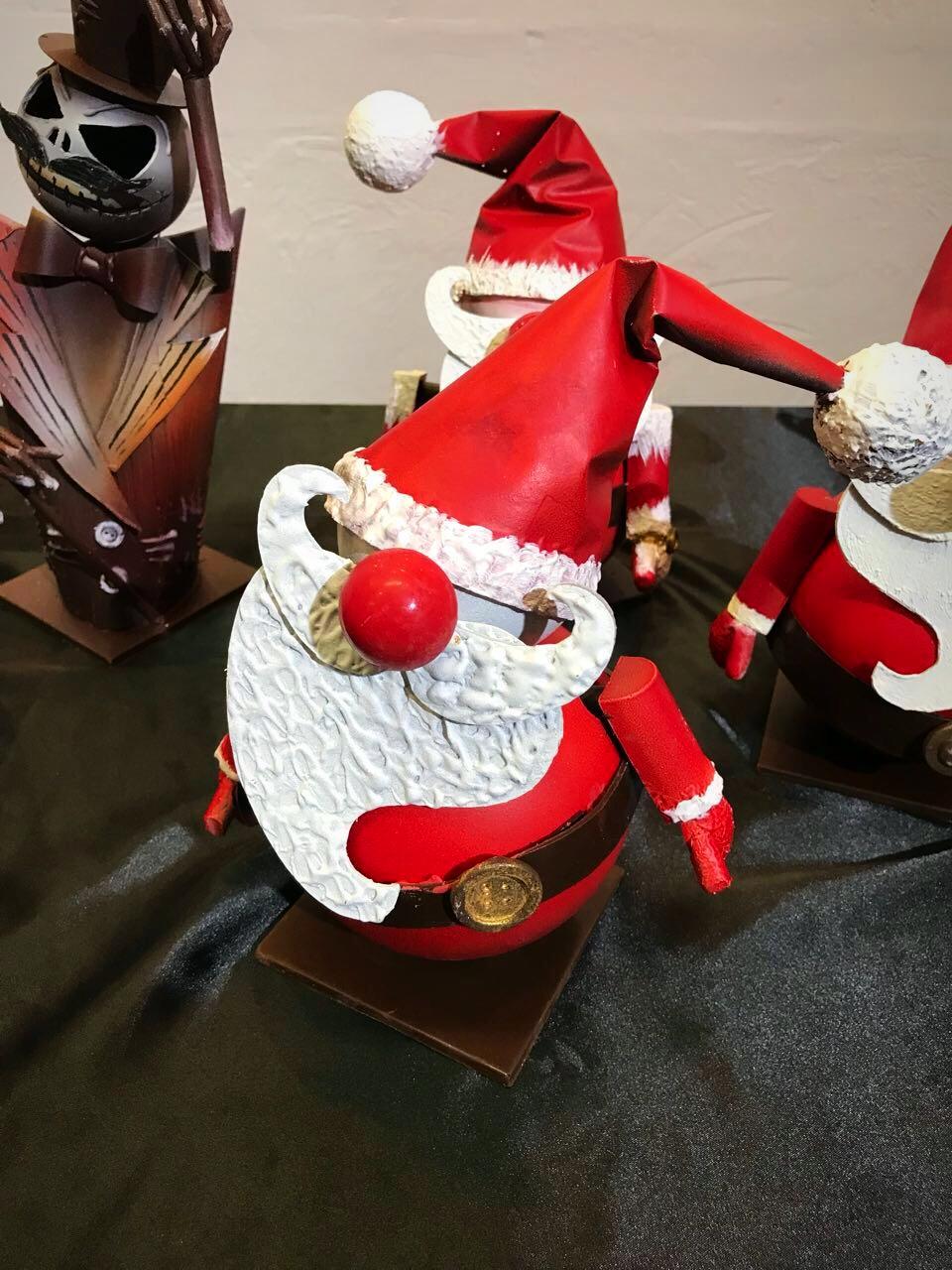 Рождественский шоколадный декор @olgapenioza