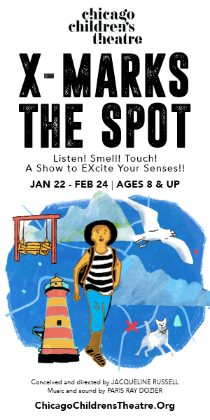 X-marks The Spot - Illustration (Chicago Children's Theatre)