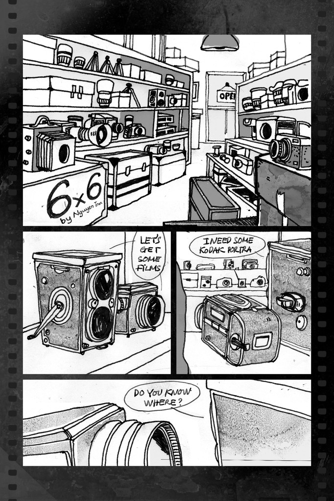 Short story about medium format cameras