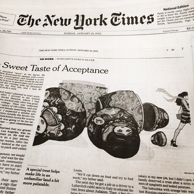 The New York Times, Jan 2015