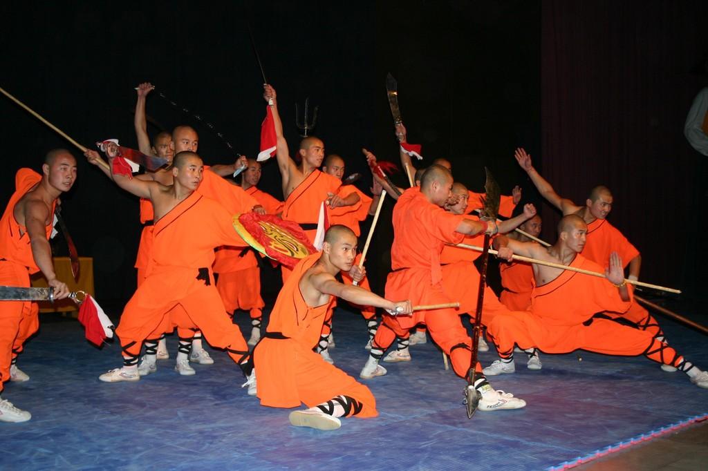 Les Maîtres de Shaolin, février 2008