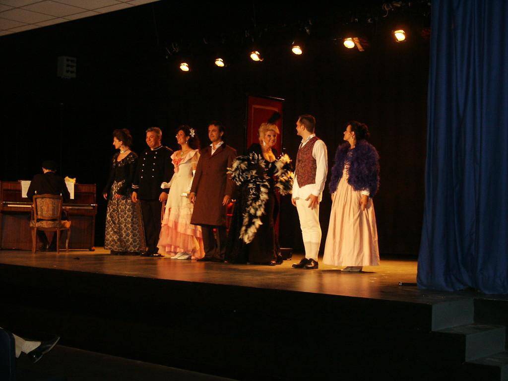Théâtre Le Fil à la Patte, juillet 2005