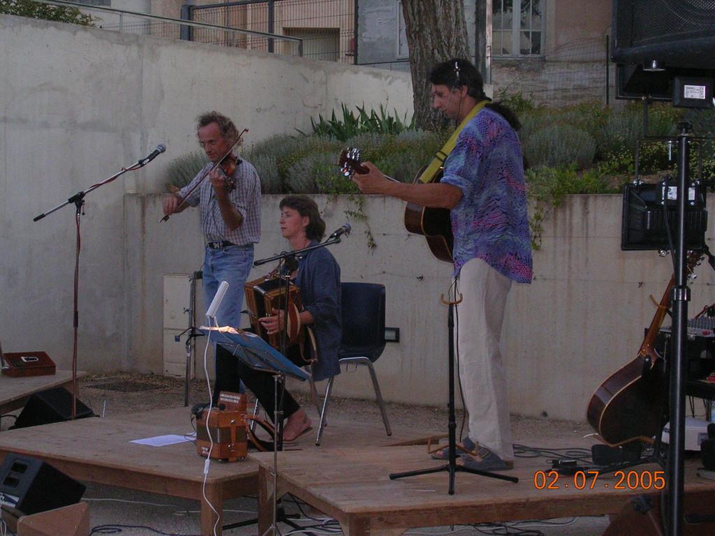 Concert de Caoran, musique des balkans (juillet 2005)