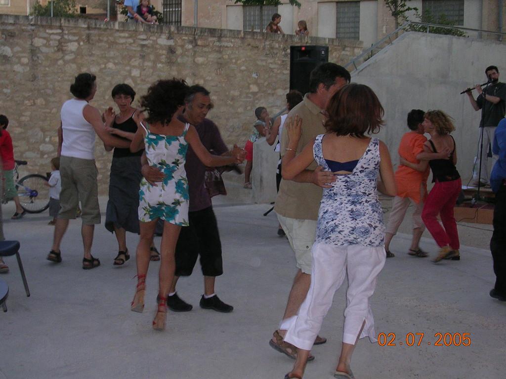 Concert sur le parvis - juillet 2005