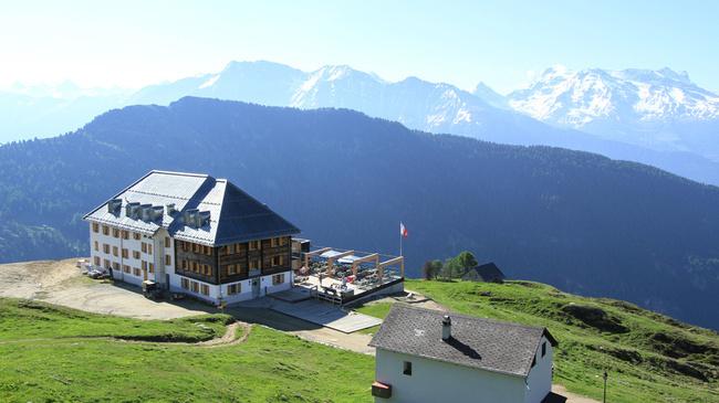 Weitwandern ohne Gepäck im Wallis: Hängebrücken Trail Aletsch Arena