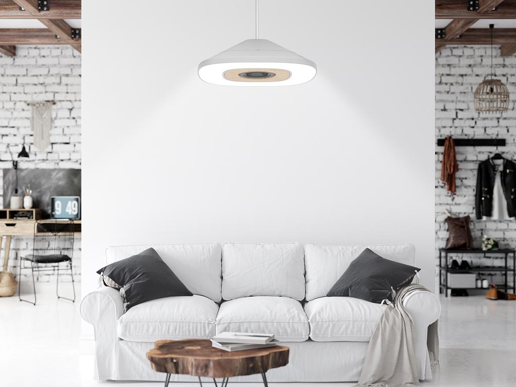 Deckenlampe mit Lautsprecher