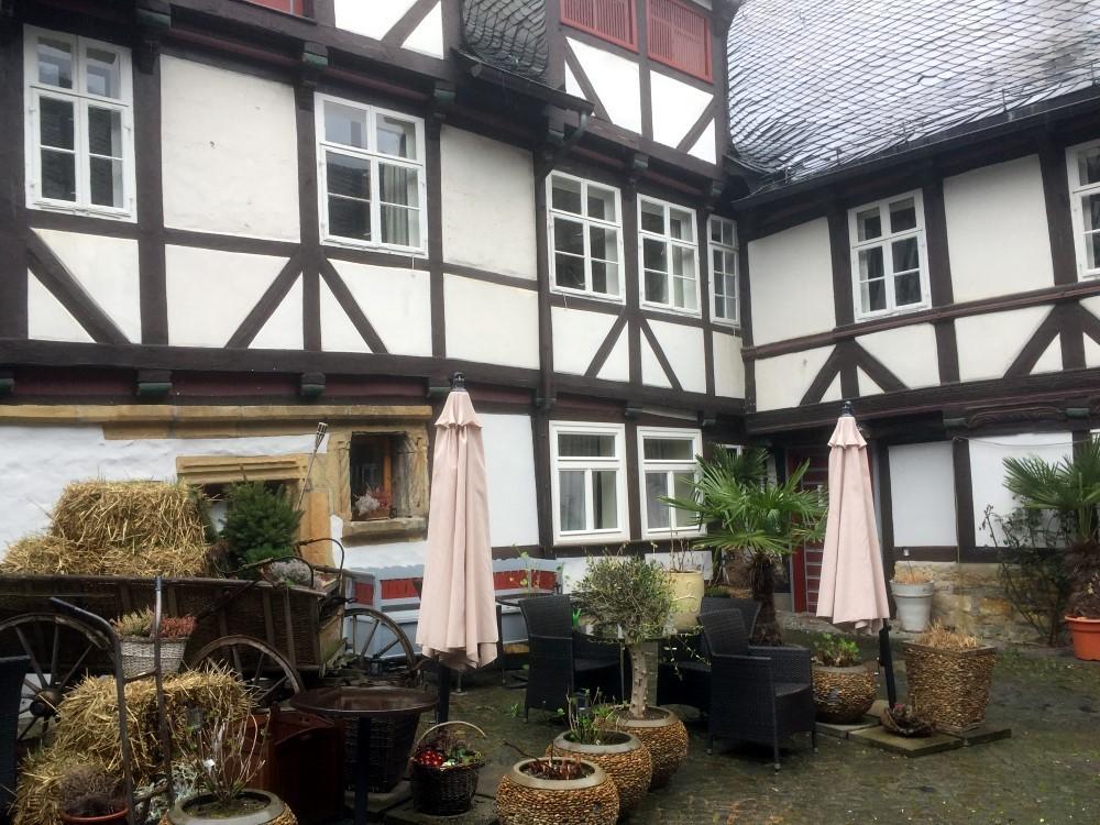 """Die Ausspann, heute Hotel """"Alte Münze"""". in der Münzstraße, dort lebten die Wehrstetts"""