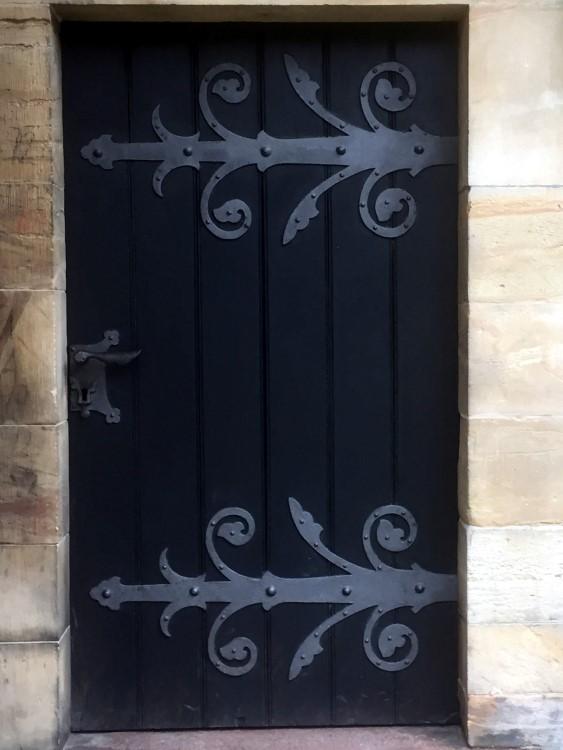 Wer hinter dieser Tür versachwand, war zu bedauern! Sie führte in den Malefizenturm
