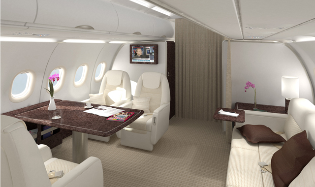 Executive Aircraft Interior Innovints Webseite