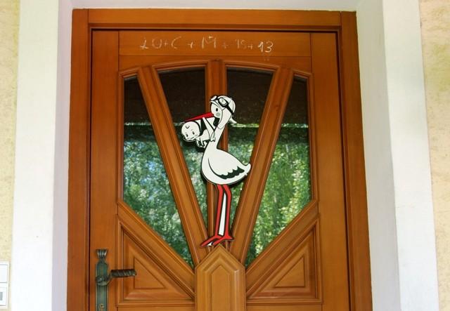 Klapperstorch Kimi (S) für die Tür