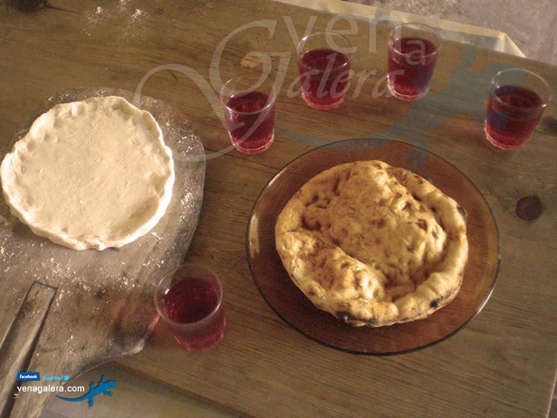 Gastronomía de Galera: Farfollas al horno con pimentón o azúcar. Foto: @venagalera