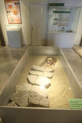 Museo de Galera - Sepultura