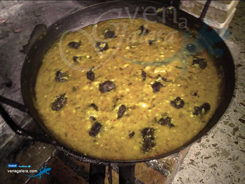 Gastronomía de Galera - Gachas. Foto: @venagalera