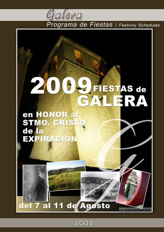 Programa Fiestas de Galera 2009
