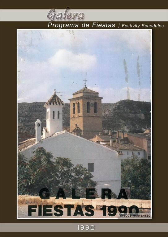 Programa Fiestas de Galera 1990