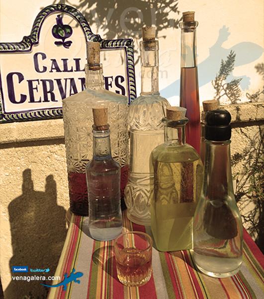 Gastronomía de Galera - Licores: orujo, churripampli, mistela, licor café, gloria. Foto: @venagalera