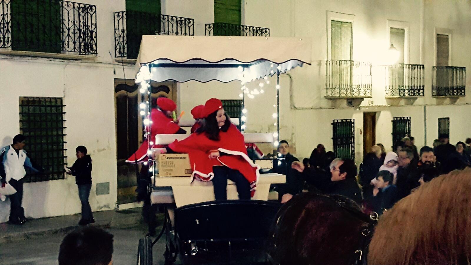 Cabalgata de Reyes Magos 2017. Foto: Miguel A. Martínez Muñoz