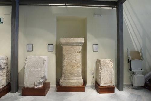Museo de Galera - Piedras grabadas