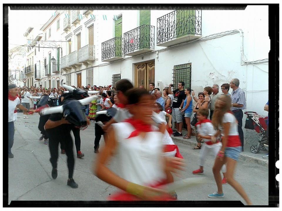 Desfile de carrozas Fiestas de Galera 2014