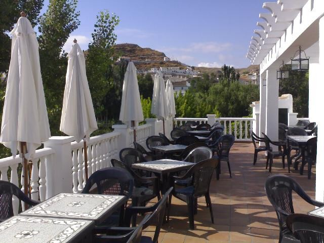 Hotel Restaurante Galera -Terraza