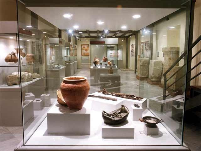 Museo de Galera - Interior