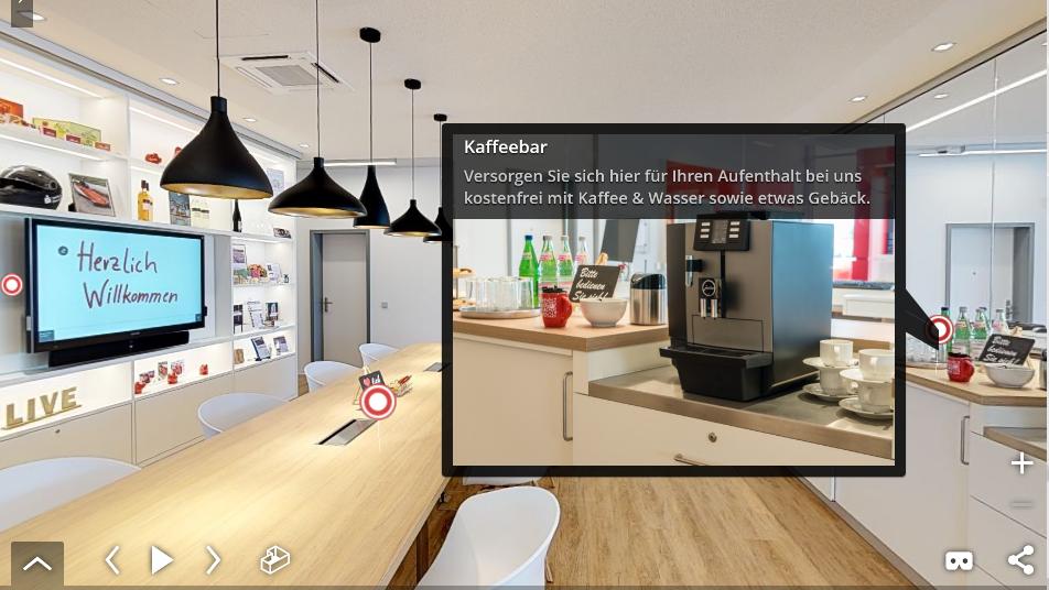 Unternehmenspräsentation in 3D auf jedem Endgerät und jeder Webseite
