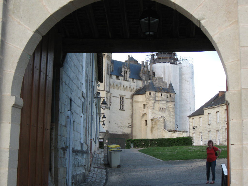 Schlosseingang Saumur